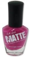 L.A. Girl Matte Flat Finish 14 Ml (Matte Raspberry Nl 543)