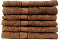 The Home Story Brown Set Of 6 Napkins