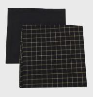 Adt Saral Modern Print Set Of 2 Cloth Napkins (Multicolor) - NAPE4ES95URME5YJ