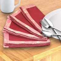 Milano Home Multicolor Set Of 4 Napkins