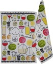Morning Blossom Designer Kitchen Towel Set Of 2 Cloth Napkins - Multicolor - NAPDZCUSCAGRMAGP