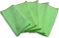 El Sandalo Kitchen Duster Set Of 10 Cloth Napkins (Green)