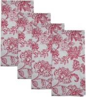 Smart Home Textile Red, White Set Of 4 Napkins - NAPE6ZDYKDGUHF3C