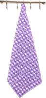 Home Boutique Purple, White Set Of 6 Napkins