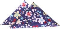 The Cranberry Club Floral Set Of 2 Cloth Napkins (Blue)