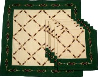 Chromatic Collections HORSE CHAIN-2-A Set Of 6 Napkins Green