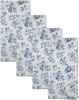 Smart Home Textile Blue, White Set Of 4 Napkins - NAPE6ZDYTNMFHHDE