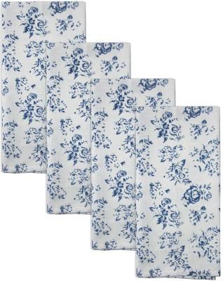 Smart Home Textile Blue, White Set Of 4 Napkins - NAPE6ZDYTNMFHHDE