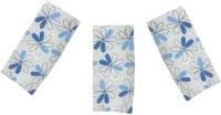 Cotonex Blue, White Set Of 3 Napkins