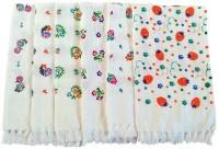 Pristine Hand Towels Assorted Set Of 6 Napkins
