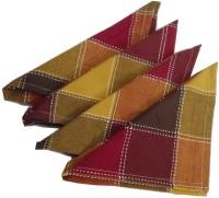Snuggle Multicolor Set Of 4 Napkins - NAPE7GP3RXFMGHWD