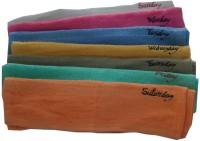 Snuggle Set Of Kitchen Towels Set Of 7 Napkins Multicolor