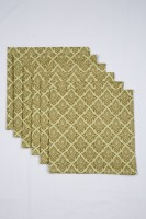 Ocean Collection Brown Set Of 6 Napkins