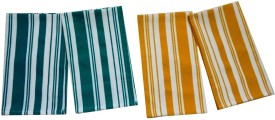 Tidy Green, Yellow Set of 4 Napkins