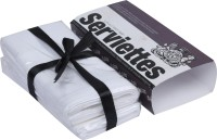 The Cotton Company Pure White Set Of 2 Napkins - NAPE8V5K8U6QGP5H