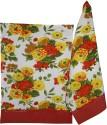 Morning Blossom Designer Kitchen Towel Set Of 2 Cloth Napkins - Multicolor - NAPDZCUSSHPYKPHU