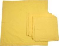 Chromatic Collections POMIGRANTE-25-A Set Of 6 Napkins Yellow