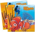 Disney Nemo Two-ply Paper Set Of 20 Paper Napkins - Multicolor