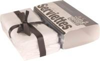The Cotton Company Pure White Set Of 2 Napkins