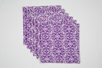 Ocean Collection Purple Set Of 6 Napkins