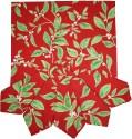 Morning Blossom Designer Set Of 6 Cloth Napkins - Multicolor