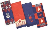 Flazee Home Trends Multicolor Set Of 4 Napkins