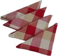 Snuggle Multicolor Set Of 4 Napkins - NAPE7GP3FPJJHXHJ