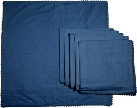 Chromatic Collections POMIGRANTE-27-A Set Of 6 Napkins Blue