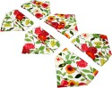 Sriam Cart Flower Set Of 6 Cloth Napkins - Multicolor - NAPEYPEAHYFH3ZZX
