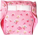 U & ME Cotton Diaper (Reuseable Pads) Small-Pink
