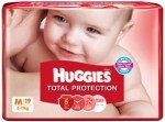 Huggies Total Protection Diapers 19 Pieces
