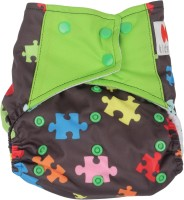 Offspring Cloth Diaper With Insert - NPYEF5ZCKGYDAYEW