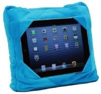 Tuzech MultiUtility 3 In 1 Cum Tablet Holder Cum Neck Rest Neck Pillow Blue
