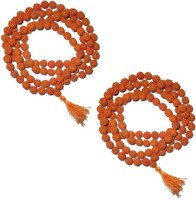 11Girls 100% Original Nepal Rudraksha Mala With 108 Beads In 6 Mm Size Combo Of 2 Wood Necklace Set