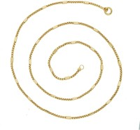 The Jewelbox Rope Yellow Gold Plated Brass Chain