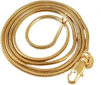 Ammvi Creations Classic Plain For Men Brass Chain