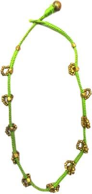 Charvee Floret Dhokra Brass Necklace