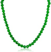 Swanvi Splashy Green Necklace Alloy Necklace