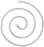 Peora Rhodium Plated Stainless Steel Chain - NKCEHXGGZKF8HHBA