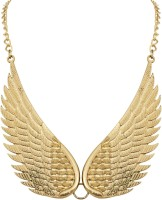 Crunchy Fashion Wings To Sky Alloy Necklace