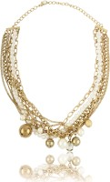 20Dresses Talk Of The Pearls Metal Necklace