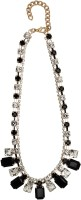 20Dresses World Is Black And White Metal Necklace