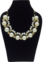 FashBlush Chic Bead And Crystal Alloy Necklace