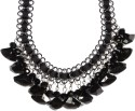 Sarah Sarah Black Color Designer Chain Necklace Metal Necklace - NKCDXV7ZZMXXYPCP