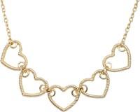Crunchy Fashion Little Heart Alloy Necklace