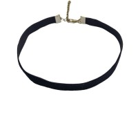 Streamline Black Velvet Tattoo Necklace For Women Fabric Choker