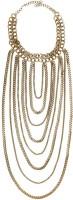 Globalepartner Trendy Pearl Alloy, Metal Necklace
