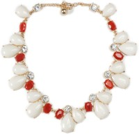 Loveforprettythings The Hint Of Red Metal Necklace
