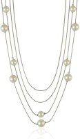 Sarah Multi Layered Long Chain Metal Necklace