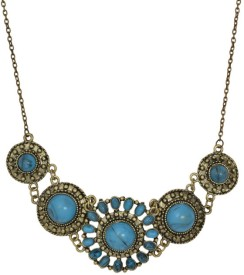 femnmas Pendant Brass Plated Alloy Necklace
